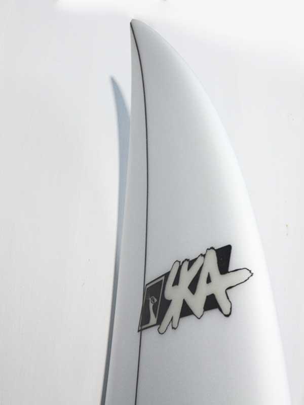 il dettaglio del nose del sk1 la tavola da surf progettata per chi vuole iniziare ad usare shortboard