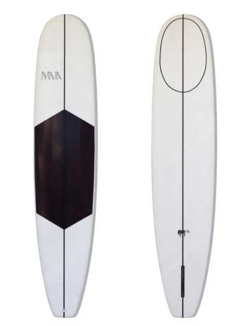 Longboard nose riding ideale per le onde italiane