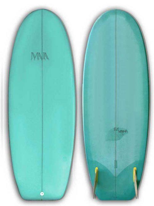 minisimmons resintint, la tavola da surf per surfisti retrò che amano divertirsi anche su onde piccole