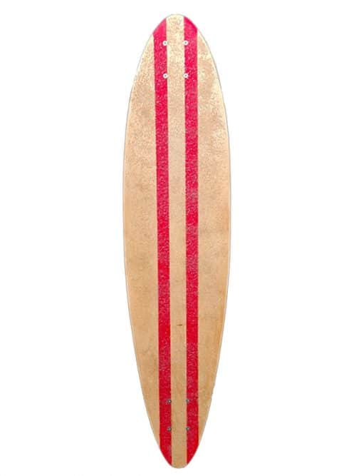longskate personalizzabile longboard pin tail