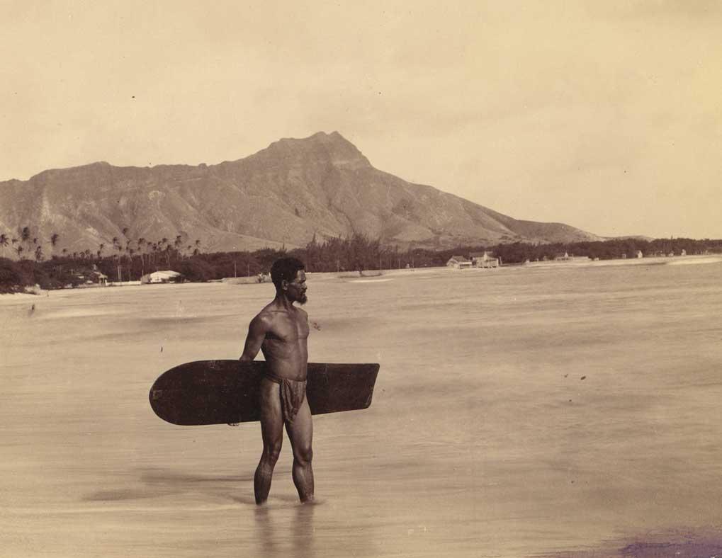 tavola surf legno hawai