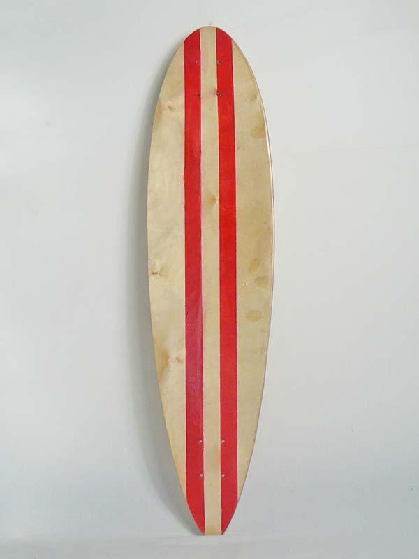 skateboard longboard pintail adatto a principianti e skater che vogliono divertirsi e una tavola che ricordi il surf