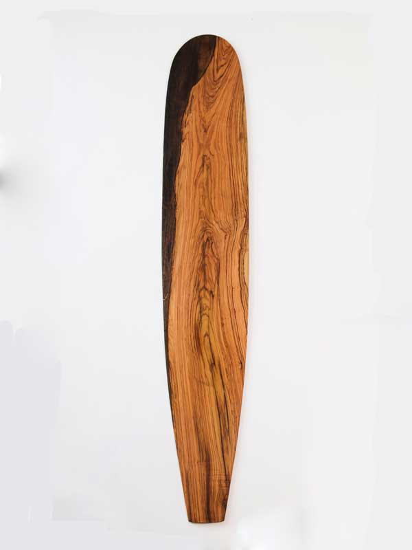 longboard legno di ulivo di design skate esclusivo in legno di ulivo