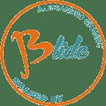 logo Blide shaped by Alessadnro grande, uno dei migliori shaper Italiani