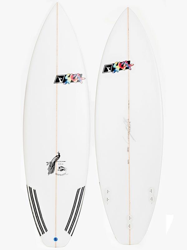 Tavola surf Shortboard alte prestazioni ideale per onde italiane