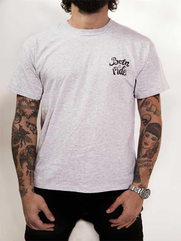 born to ride t-shirt origianle dedicata agli amanti del surf e dello skate