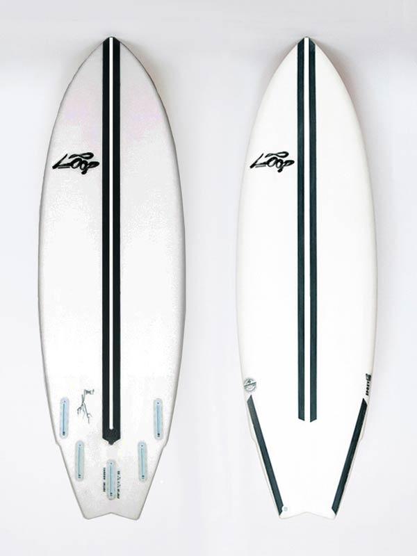 tavola da surf professionale, ideale per onde italiane