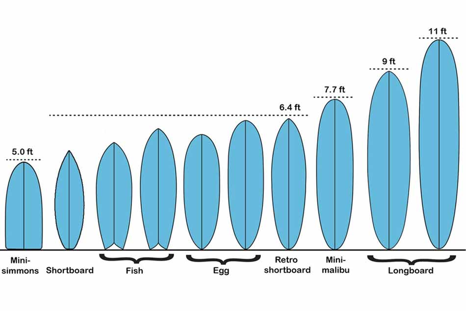 Misure tavola da surf come scegliere quella giusta blide - Tavole da surf decathlon ...