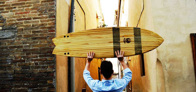 tavola in legno di nomade boards