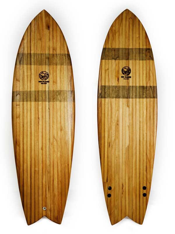 tavole da surf di legno shape fish