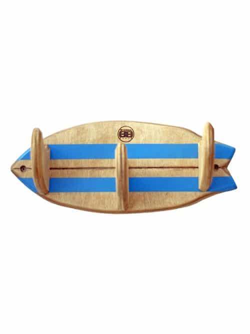appendiabiti surfboard fish per ordinare la tua stanza in modo originale, ottimo regalo per un surfista disordinato