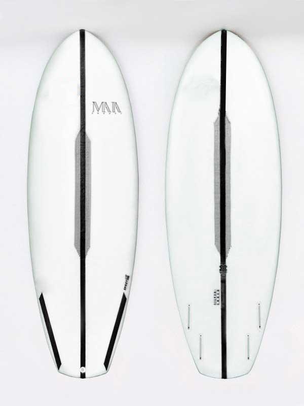 tavola di surf ideale per le onde italiane e surfisti poco esperti. facile e maneggievole per un divertimento immediato