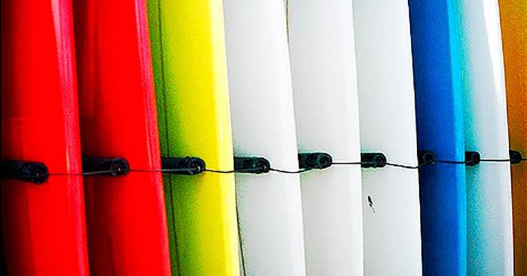 Tipi di surf le tavole differenti raccontate su blide.zone gli esperti delle tavole da surf custom