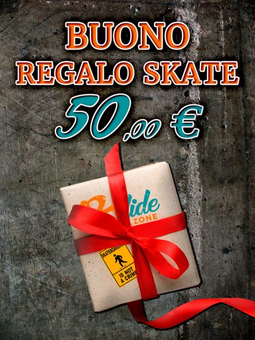 Buono regalo skater, fai un regalo gradito ad uno appassionato di skate, regala un buono per personalizzare tavole da skate e accessori