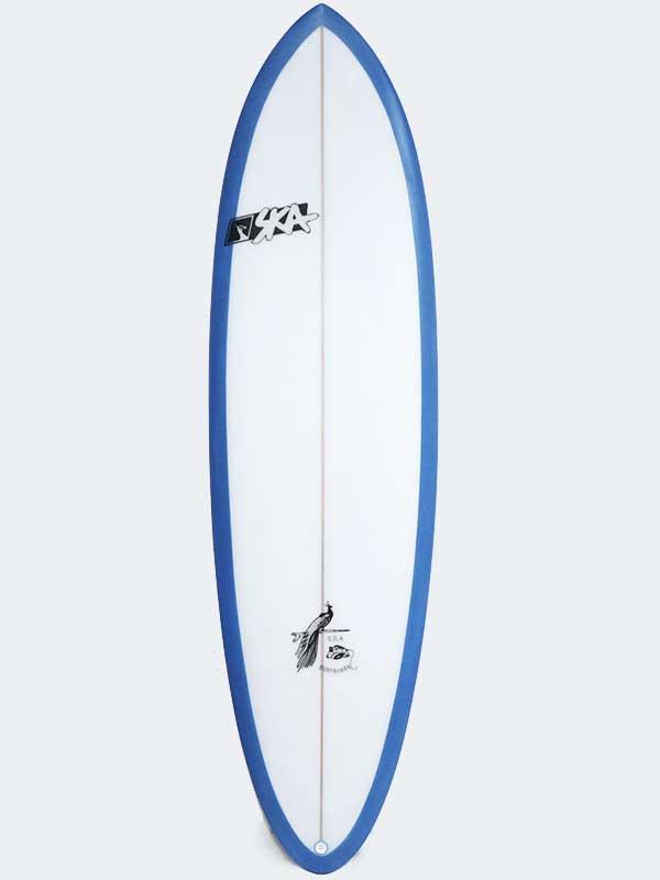 il deck della tavola da surf big boy il minimalibu personalizzabile e realizzato su misura per ogni surfista