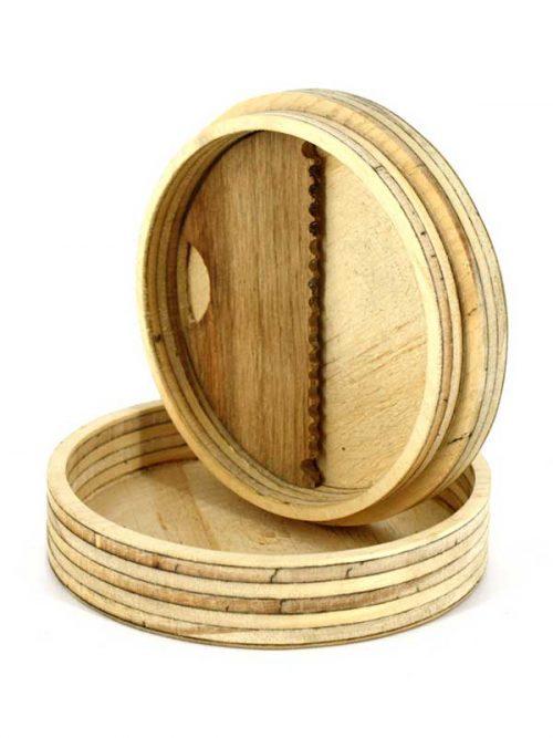 surf wax box created in wood, il porta cera marchiato blide.zone la gli specialisti delle tavole da surf