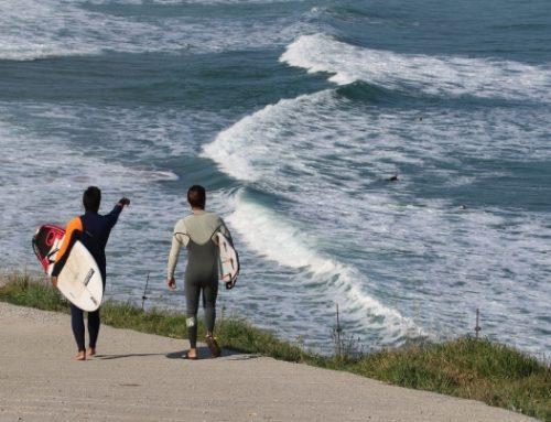 Michele Cicoria, surf e meteorologia
