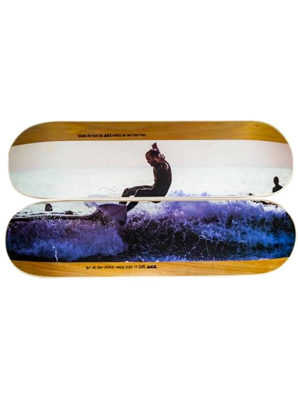 Skate espositivo dittico surfista, home decor