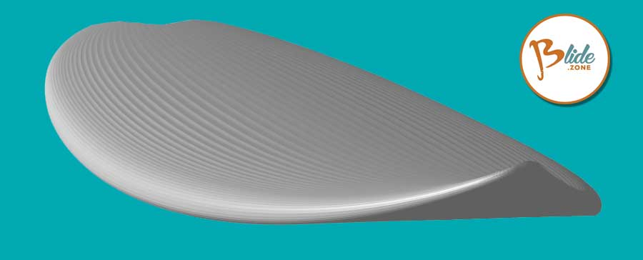 Il progetto di una tavola da surf, una shortboard personalizzata su blide.zone gli esperti del surf
