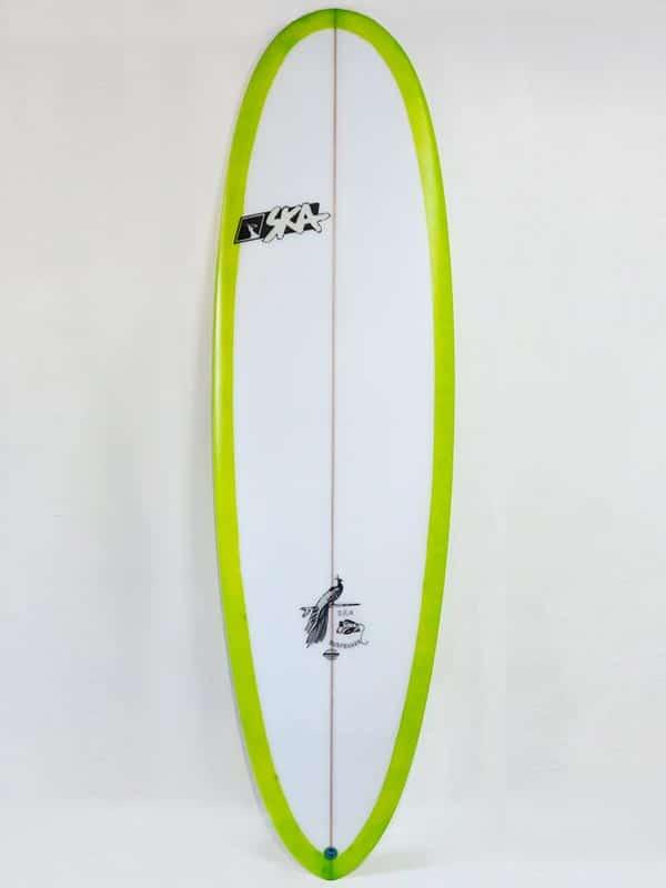 il deck della tavola da surf wave seeker ideale per principianti