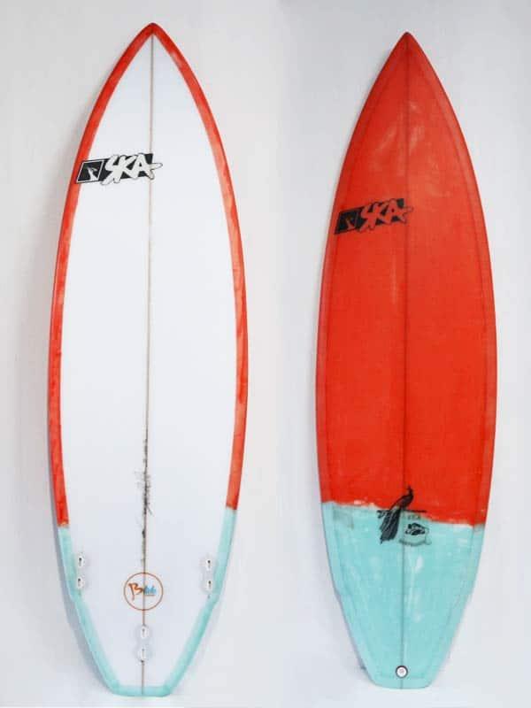 Tavola surf personalizzata perfetta per il surf e le onde italiane