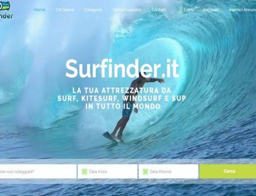 Surfinder: alla ricerca della attrezzatura surfistica