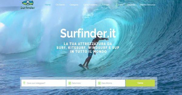 Surfinder: app per attrezzatura surf