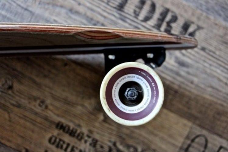 longboard wheel wells, per evitare di cadere son il classico longboard bloccaggio delle ruote