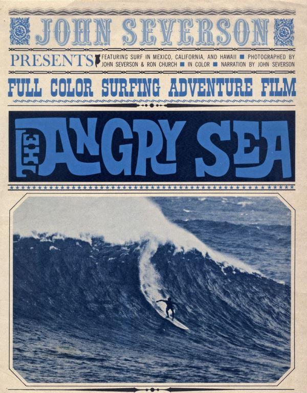 una delle prime locandine surf di John Severson