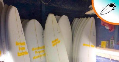 I materiali delle tavole da surf, le differenze e le caratteristiche