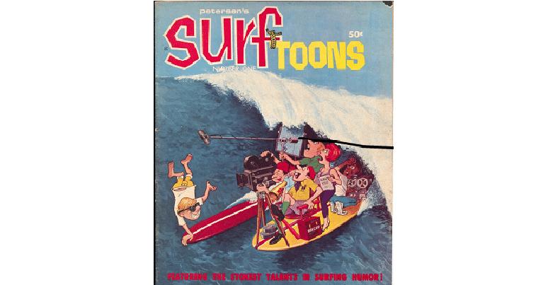 Surf Toones una delle grafiche più famose di surf contentua nel libro amazing surf logos