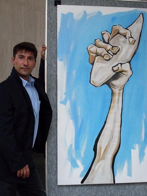 Surf Art Presa di coscienza uno dei dipinti simbolo di Ganadu