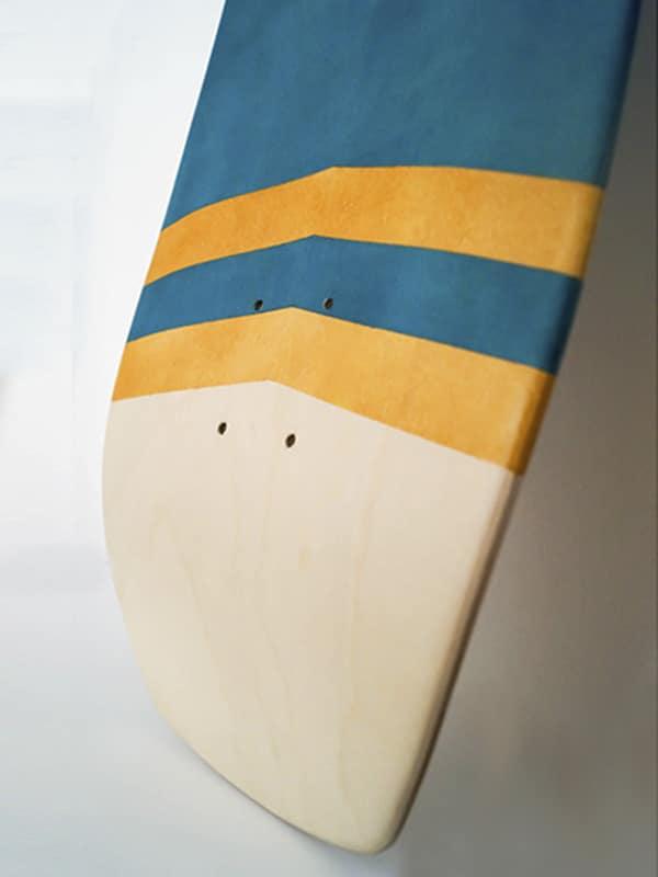 il tail della surfskate wave, con w concave per il massimo delle prestazioni