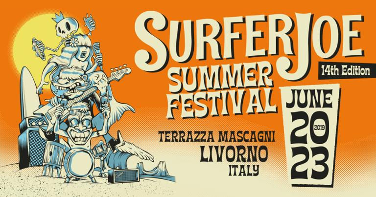 Surfer Joe Summer Festival locandina 2019