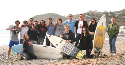 Boccono students surf club, il gruppo di universitari che ha fondato il primo surf club a milano