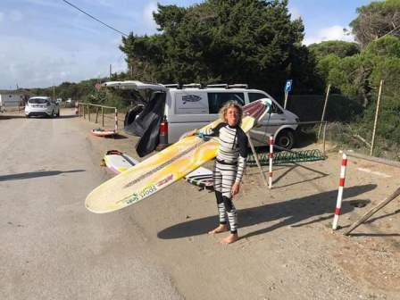 Francesca Rubegni longboarder italiana