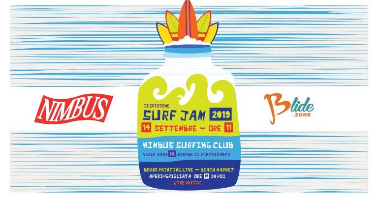 Surf Jam 2019 locandina ufficile evento surf italia