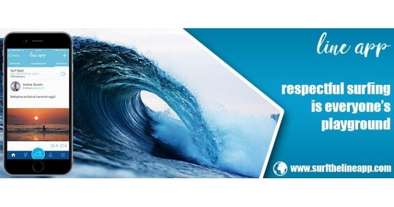 line app spot e previsioni surf nel mondo