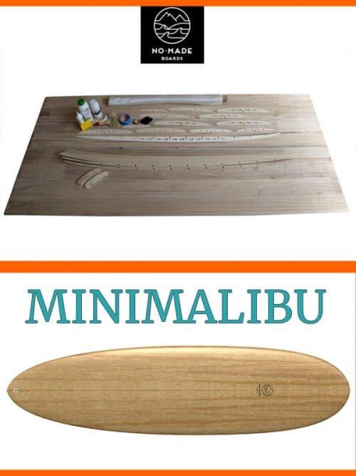 Kit per costruire minimalibu surfboard legno