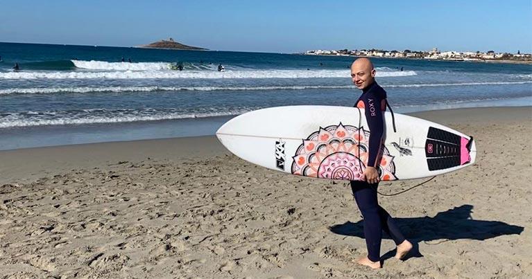 la libertà del surf la storia di ornella