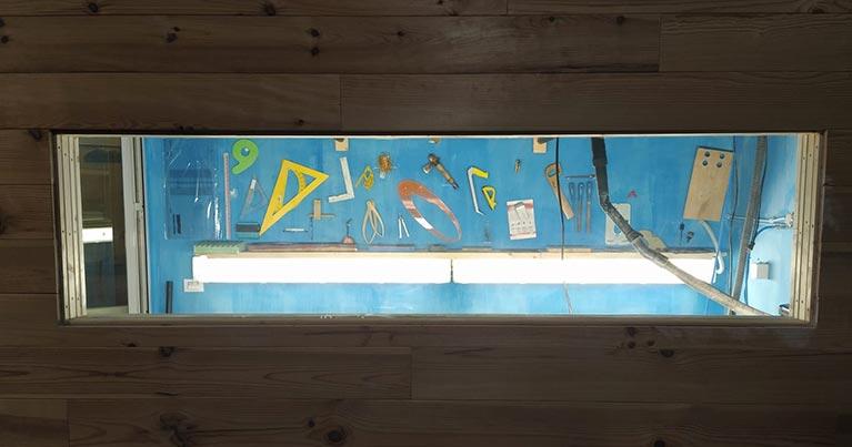 il primo laboratorio condiviso per costruire la tua tavola da surf