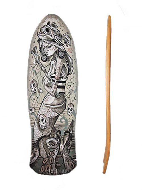 Nalu surf skate comodo e maneggevole per surfisti principianti