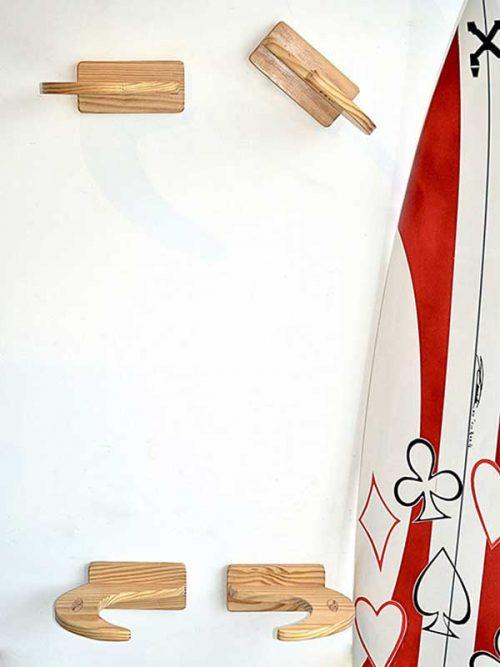 porta tavola da surf appendere al muro