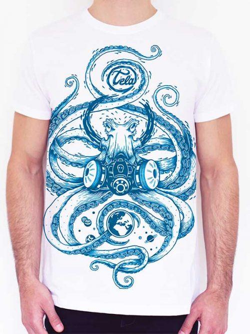 t-shirt unisex rebellion cotone