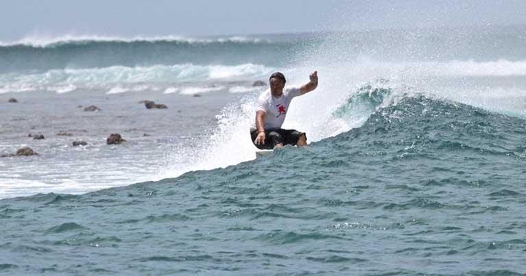 Alessandro dini pioniere del surf in italia