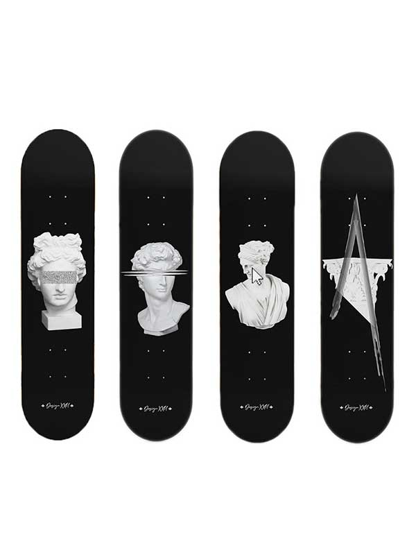 Skate art collection