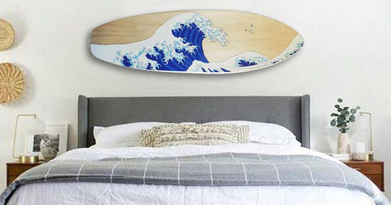 Summer Home Decor arredo casa surf
