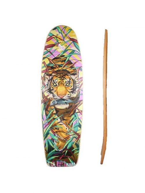 Surf skate piccolo e maneggevole, comodo per la città e per curve radicali