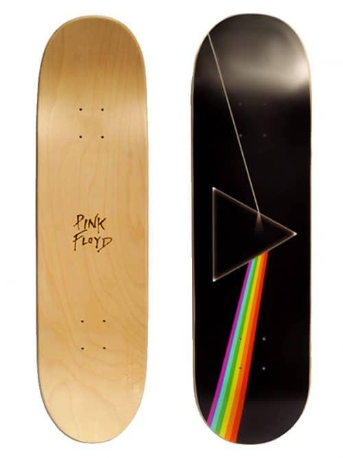 Pink Floyd skateboard wall design