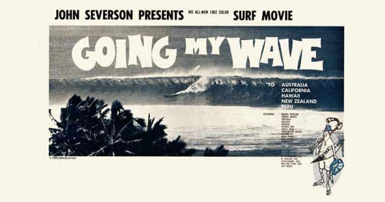 poster surf la mostra Blide al surf jam 2020